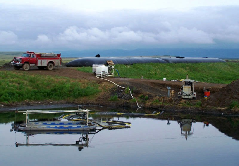 Unalakleet Lagoon-Dredging Under Way